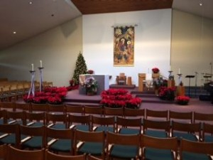 Christmas in Worship Center