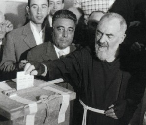 St. Pio voting