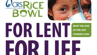 CRS Rice Bowl for Lent